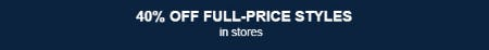 40% Off Full-Price Styles from Lands' End