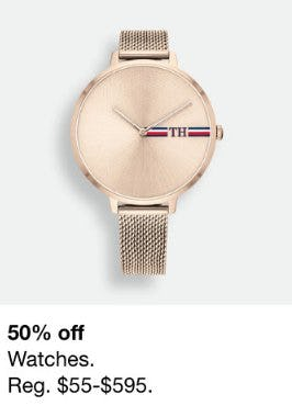 50% Off Watches from macy's