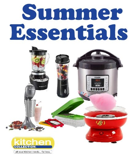 Summer Essentials from Kitchen Collection