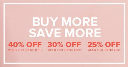 Buy More, Save More from Torrid