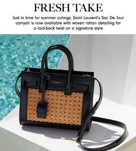 New Saint Laurent Bags from Neiman Marcus