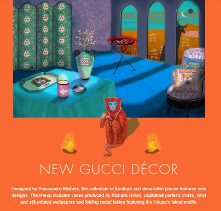 New Gucci Décor from Gucci
