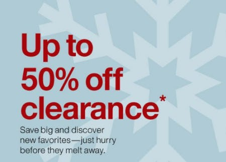 Up to 50% Off Clearance from Crate & Barrel