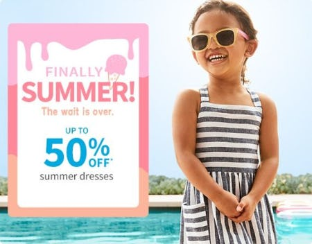 Up to 50% Off Summer Dresses from Carter's Oshkosh