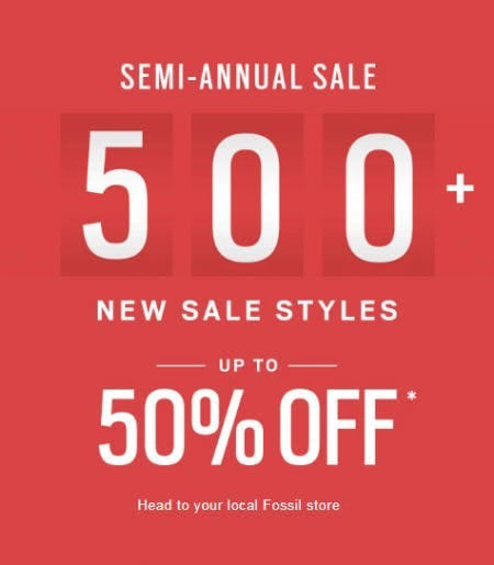 Up to 50% Off Semi-Annual Sale
