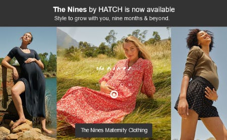 A New Maternity Brand by Hatch is Here from Target