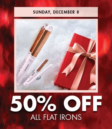 50% Off All Flat Irons from Sally Beauty Supply