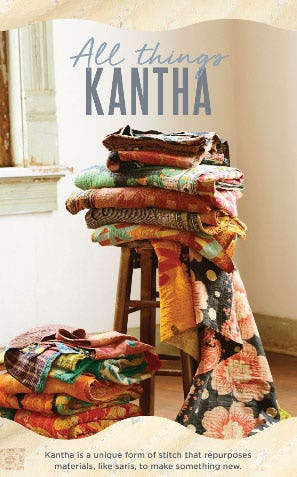 All Things Kantha from Earthbound Trading Co