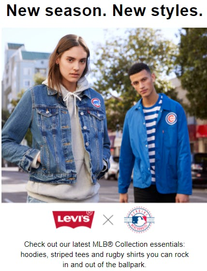 Shop Our Latest MLB® Collection Essentials from The Levi's Store