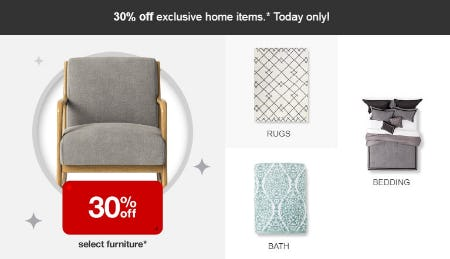 30% Off Home Items