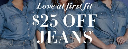 $25 Off Jeans from Torrid