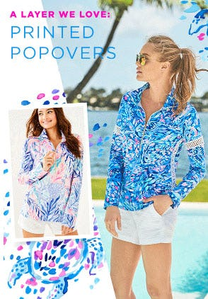 A Layer We Love: Printed Popovers from Lilly Pulitzer