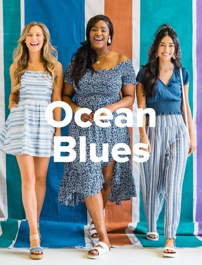 New Arrivals: Ocean Blues from francesca's