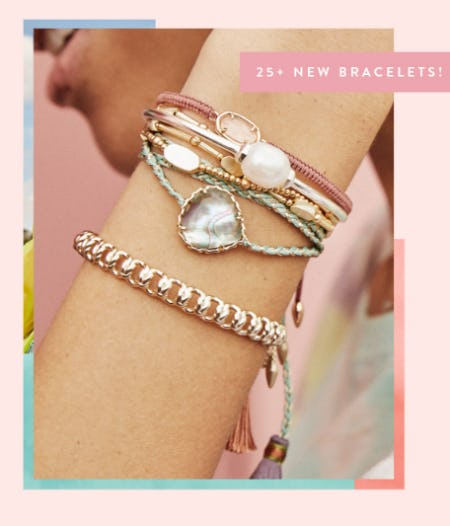 New Stacking Bracelets for You from Kendra Scott
