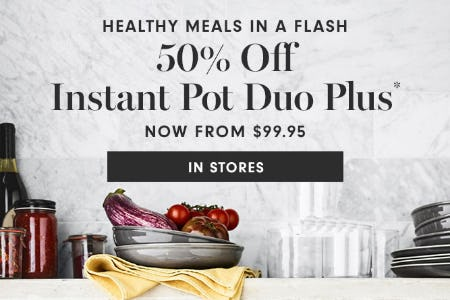 50% Off Instant Pot Duo Plus