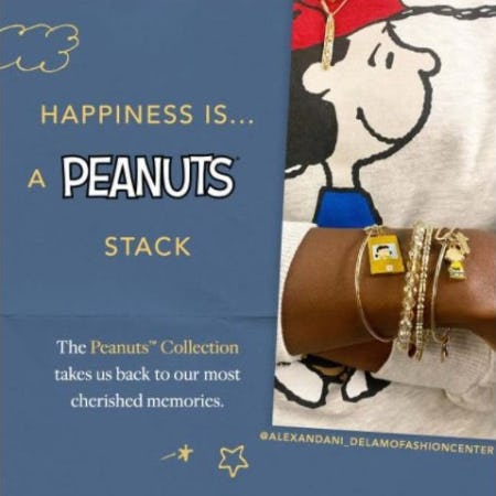 Styled by You: The Peanuts Collection from ALEX AND ANI