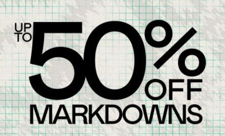 Up to 50% Off Markdowns from PacSun