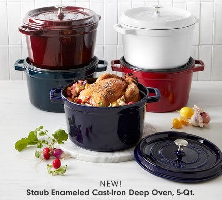 Introducing the Latest Staub Dutch Oven from Williams-Sonoma