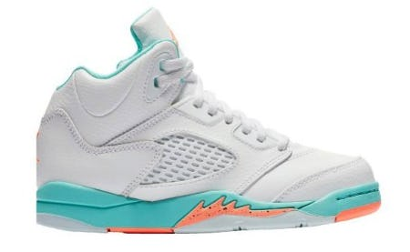Jordan Retro 5 - Girls' PreSchool