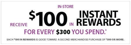 $100 Instant Rewards