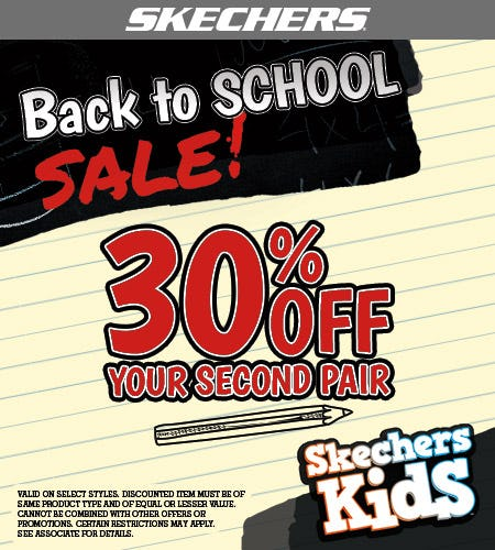 Skechers Back to School Sale! from Skechers
