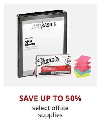 Up to 50% Off Select Office Supplies from Office Depot
