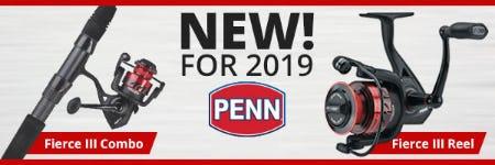 New Penn® Fierce® III Combo & Reel