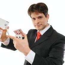 Magician Nathan Coe Marsh