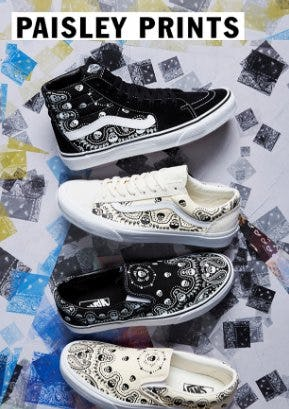 Paisley Prints from Vans