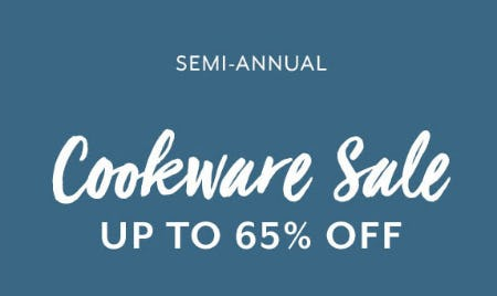 Up to 65% Off Cookware Sale from Sur La Table