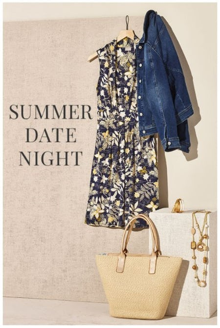 Date Night Outfit from Loft Outlet