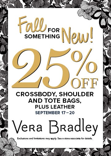 A Very Stylish Sale from Vera Bradley
