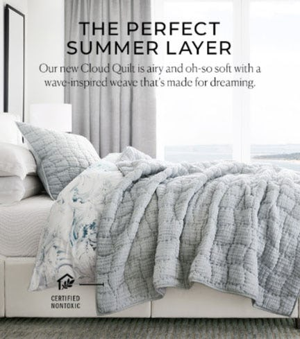 The Perfect Summer Layer from Pottery Barn