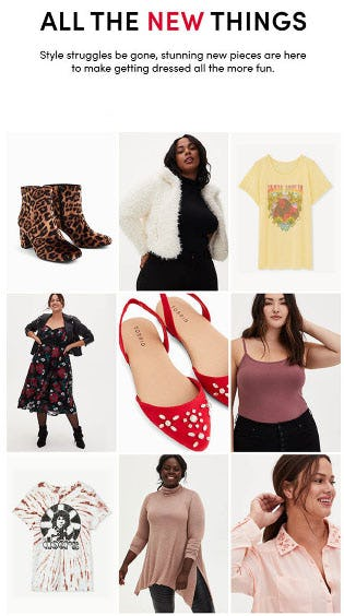 All The New Things from Torrid