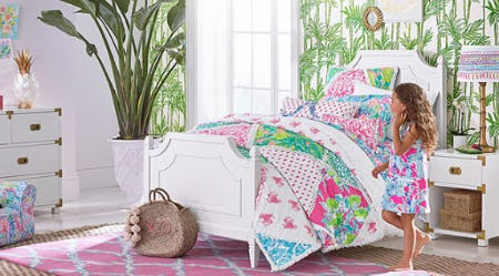 Brilliant Lilly Pulitzer Faves are Back in Stock from Pottery Barn Kids