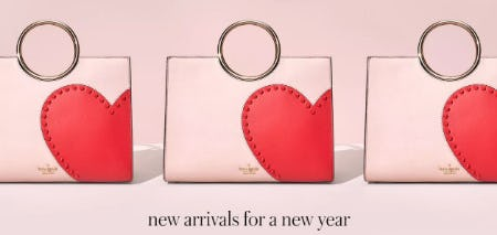 New Arrivals for a New Year from kate spade new york