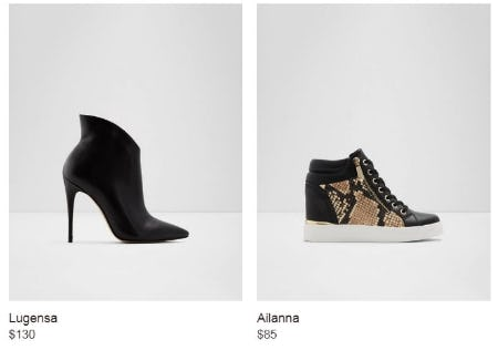 Shop New Arrivals from ALDO