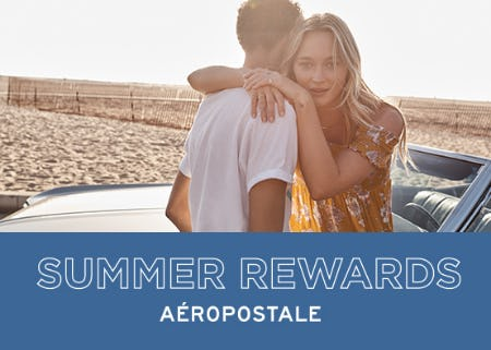 Insider Rewards from Aéropostale