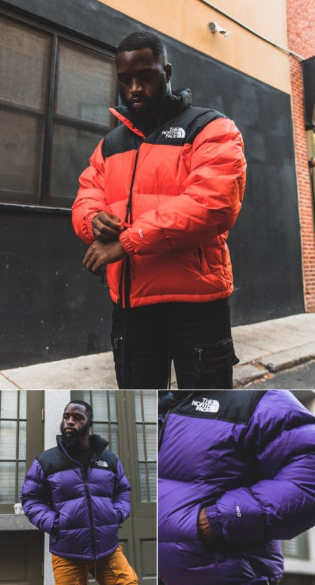 The North Face Nuptse Jackets from DTLR
