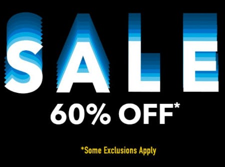 Fall Winter Sale 60% Off from A|X Armani Exchange