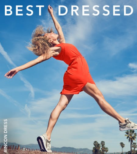 Your Summer Dress Code from Athleta