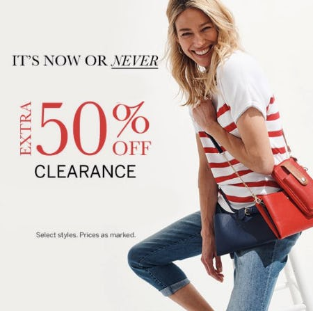 Extra 50% Off Clearance from Dress Barn, Misses And Woman