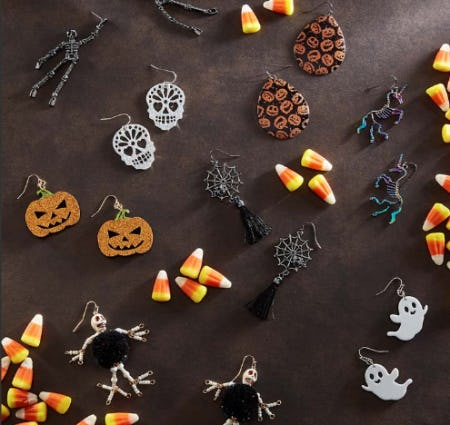 The Spooky Jewelry from Versona Accessories