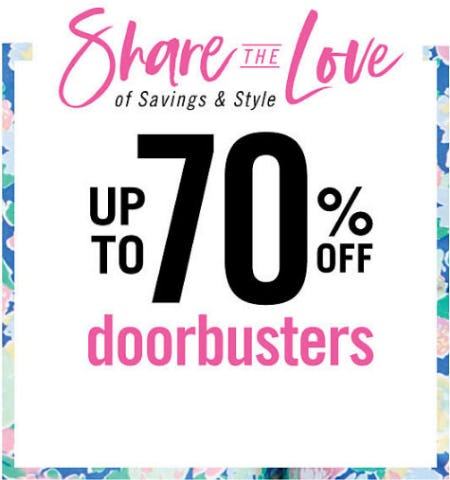 Up to 70% Off Doorbusters from Belk