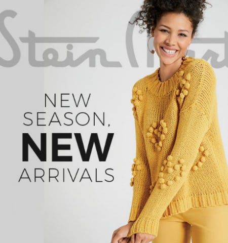New Season Arrivals from Stein Mart