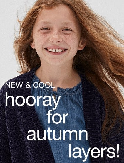 The Cutest Autumn Layers from Gap