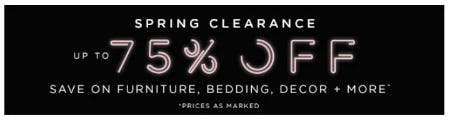 Spring Clearance up to 75% Off from Pb Teen