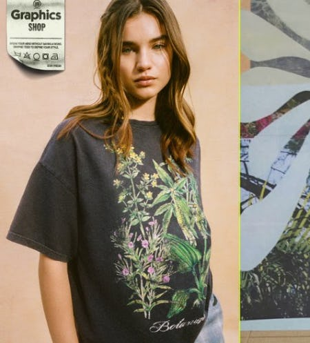 Meet the New Graphics from Urban Outfitters