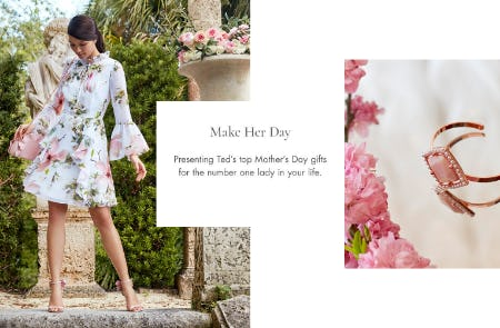 Mother's Day Gifts from Ted Baker London