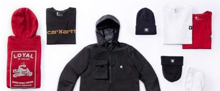 The Last Wave of Hurley x Carhartt Gear from Carhartt